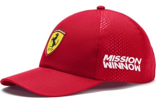 Novo Boné Scuderia Ferrari F1 Team 2019 Vettel Leclerc Frete Grátis