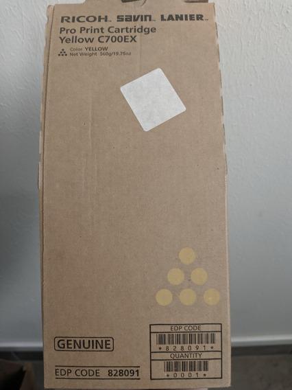 Toner Ricoh Pro C550/700 Amarelo Original