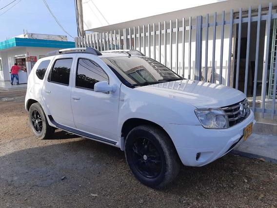 Duster 1.6 4x2 Mecanica A Gasolina Y Gas, Blanca,