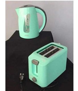 Pava Eléctrica Atma Modelo Pe2180gn / Color Verde Agua