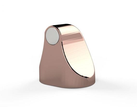 Trava Porta Magnético Universal Comfortdoor Rose Gold