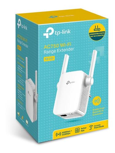 Extensor De Rango Repetidor Wifi Banda Dual Re205 Tp-link