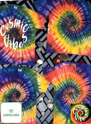 Tie Dye Camisetas Hippie Personalizadas