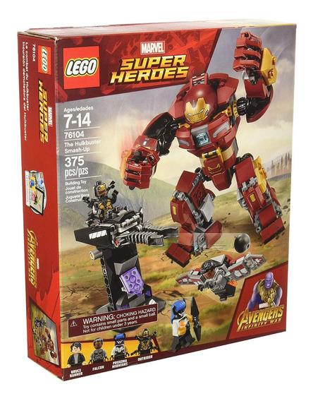 Lego Avengers: The Hulkbuster Smash-up 76104