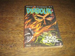 Diabolik Nº 5 Ano /1990 Editora Record Original