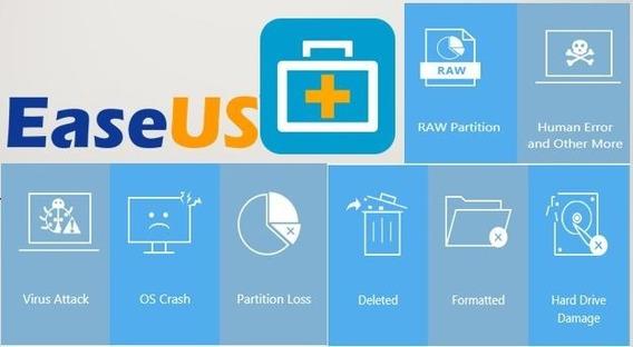 Easeus: Recupere Arquivos Perdidos Ou Deletados Em Um Clique, Recupere Repartições Ou Até Hds Inteiros Com O Easeus Pro.