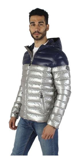 Chamarra Hombre Greenlander Pol7041 Moda Metalizada