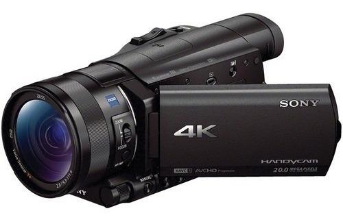 Sony Fdr Ax100 4k Ultra Hd Filmadora 4k