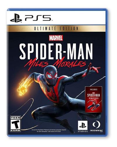 Spiderman Miles Morales Ultimate Edition - Playstation 5