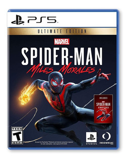 Spiderman Miles Morales Ultimate Edition - Playstation 5