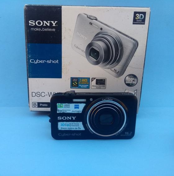 Câmera Sony Cybershot Dsc - Wx7 - Frete Grátis