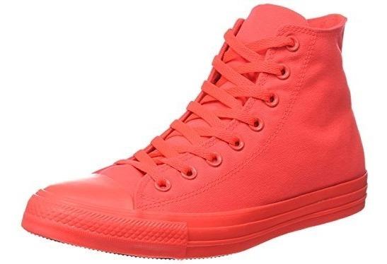 Tenis Converse Rojo Carmesi Bota Chuck Taylor Unisex Crimson