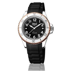 Relógio Feminino Analógico Everlast E5071 Preto