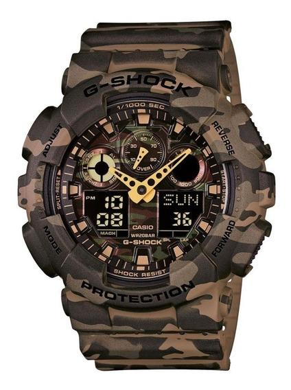 Relógio Casio G-shock Ga-100cm-5adr - Novo - Original