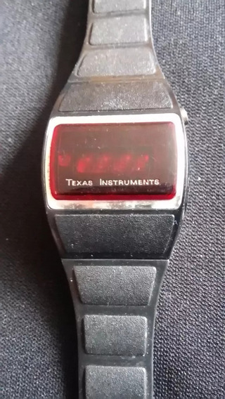 Reloj De Pulsera Vintage Texas Instruments Suizo