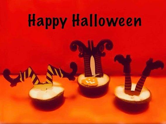 Cake Topper Y Cupcake Topper Para Adorno Halloween
