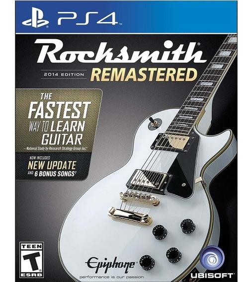 Rocksmith 2014 Edition Remastered Somente Jogo - Ps4