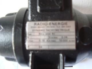 Dynamo Tachimetrique Radio-energie Tipo Reo 444 R1 Nuevo