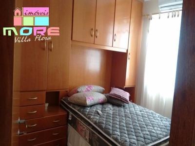 Locação De Apartamento Modelo Bruna Com 2 Quartos, Imóvel Rico Em Planejados, Em Condomínio No Villa Flora Em Sumaré Sp - Ap00162 - 4440401