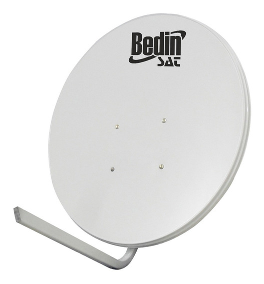 Antena Parabólica De Tv Banda Ku Bedin Sat Chapa 60cm