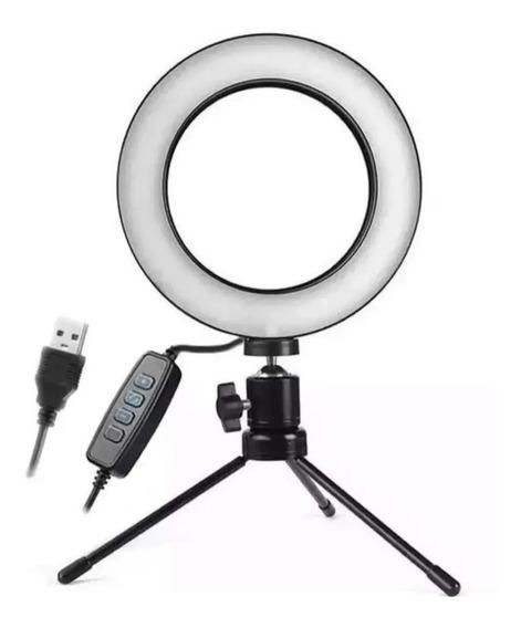 Luminária Led Ring Ligth Manicure Maquiagem Selfie Camera
