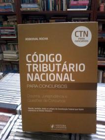 Codigo Tributario Nacional Roberval Rocha