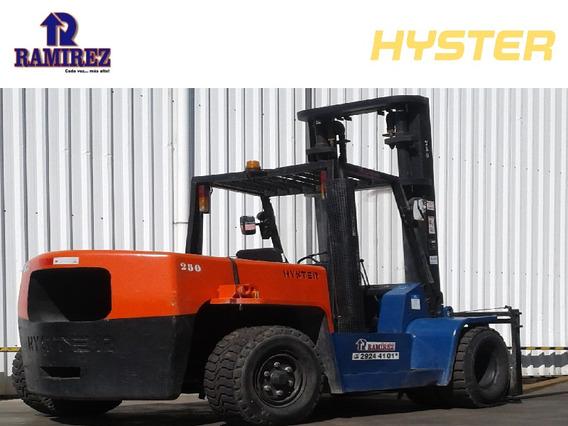 Autoelevador Montacarga Usado Marca Hyster 7000kg Diesel