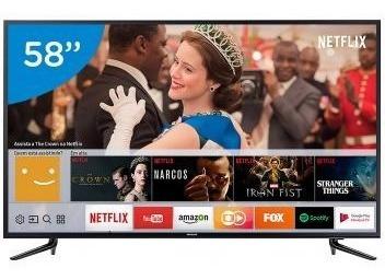 Smart Tv 4k Led 58 Samsung 58mu6120 Wi-fi - Conversor