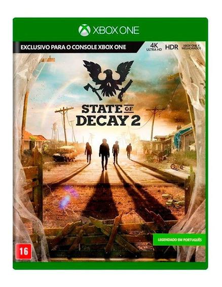State Of Decay 2 Xbox One Mídia Física Novo Lacrado