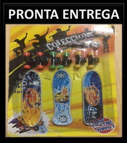 Brinquedo Mini Skate De Dedo 3 In 1 Pronta Entrega