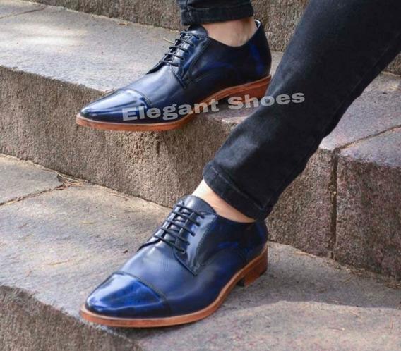 Zapato Cuero De Hombres Exclusivos