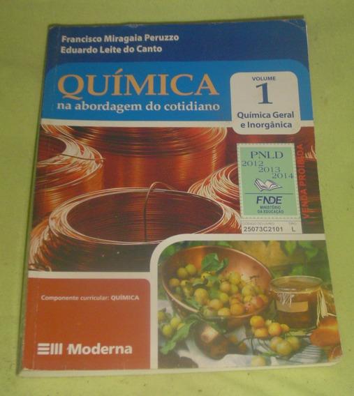 Quimica Na Abordagem Do Cotidiano 1 - Francisco Peruzzo.
