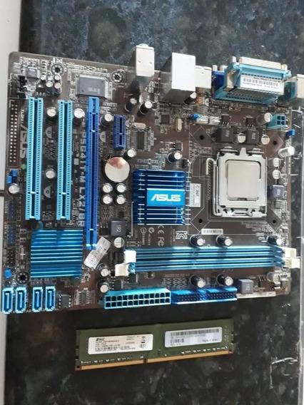 Kit Placa + 4gb +processador Intel Core 2 Quad Q9550