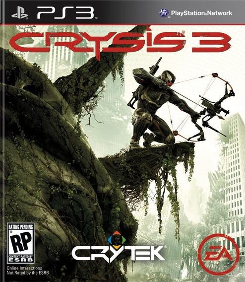 Crysis 3 Ps3 - Leia Descrição