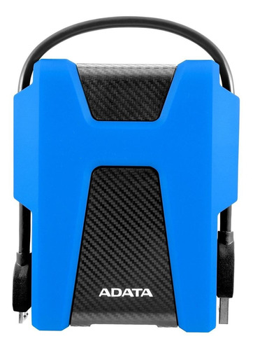 Imagen 1 de 4 de Disco duro externo Adata DashDrive Durable HD680 AHD680-1TU31 1TB azul