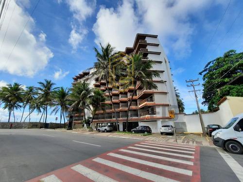 Imagem 1 de 23 de Flat Com 40 M², Beira Mar, No Hotel Jatiuca! Grande Oportunidade Para Investimento.  - 1191