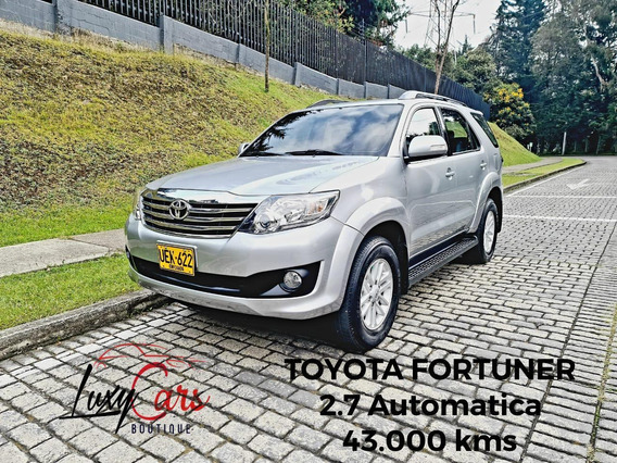 Toyota Fortuner 2700cc At 4x2 Abs Aa