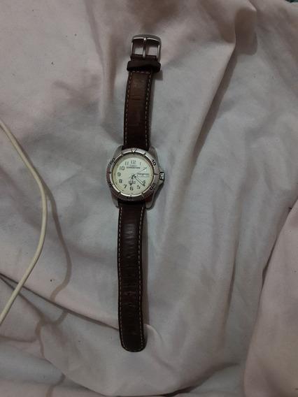 Timex T46681 Expedition Reloj Para Hombre Correa Piel Nuevo