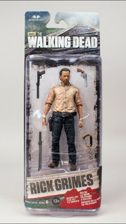 Rick Grimes The Walking Dead Nuevo En Blister Sellado