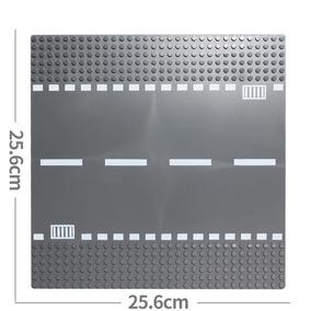 Placa Base Estrada Reta Compatível Com Lego