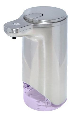 Dispenser Jabon Liquido Espuma Detergente Sensor Acero