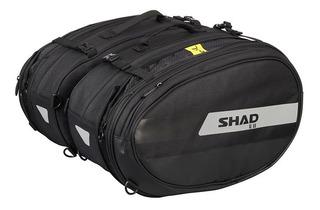 Alforjas Laterales Extensibles Para Moto Shad Sl58 Textiles