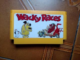 Wacky Races Autos Locos Para Family Game Famicom Nes