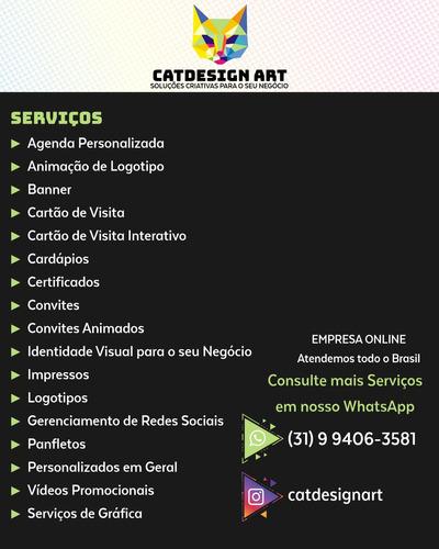 Imagem 1 de 7 de Serviços De Design Gráfico E Impressos