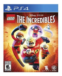 Lego The Incredibles Ps4 Nuevo Fisico Sellado