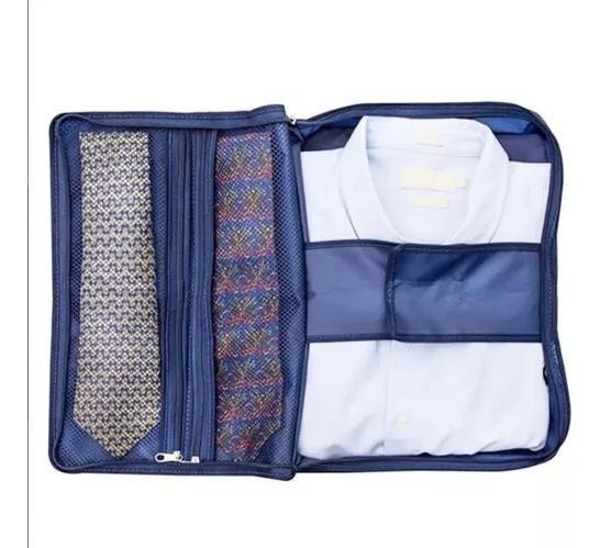 Porta Camisa E Gravata Organizador Guarda Roupa Secalux