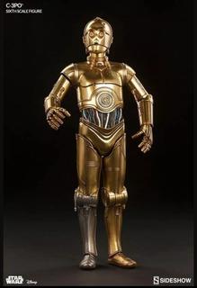Star Wars Sideshow Figura De Colección: C-3po