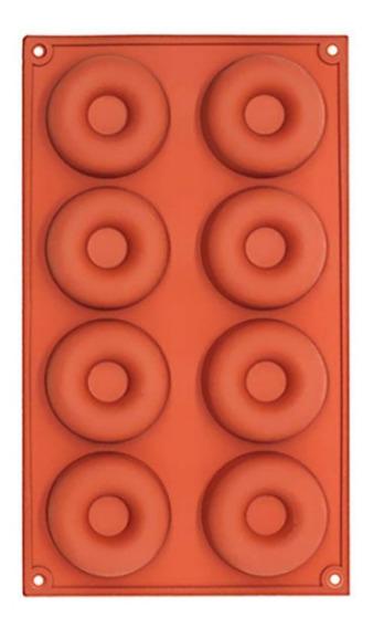 Molde Para Donas Silicona 29 X 17 Cm