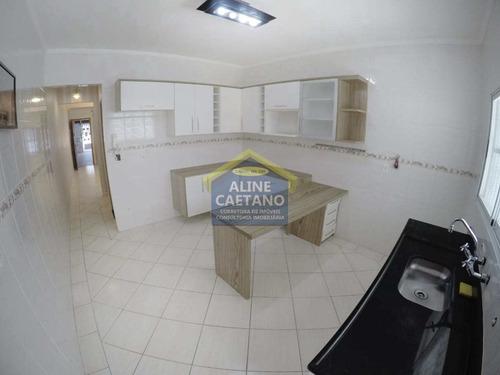 Imagem 1 de 30 de Oportunidade 3 Dorms, Canto Do Forte, R$ 590 Mil - Vftt0973