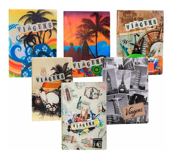 Álbum De Fotos Viagem 500 Fotos 10x15 - 2 Unidades